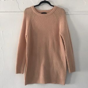 Forever 21 pink knit sweater